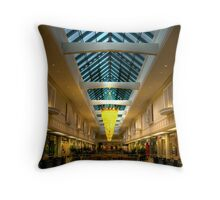 Park Lane At Night Throw Pillow