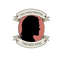 Sam Winchester - The Boy King Photographic Print