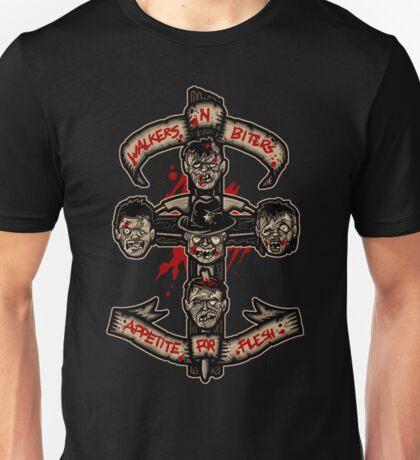Appetite For Flesh Unisex T-Shirt