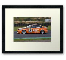 Orange Aid Framed Print