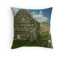 Abbey gable Throw Pillow