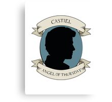 Castiel - Angel of Thursday Canvas Print