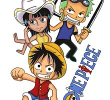 One Piece Chibi by MarkAstz97