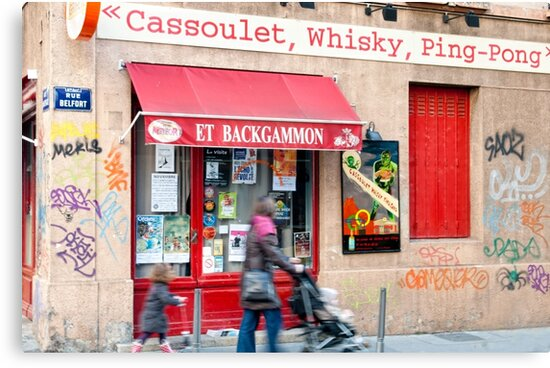 Cassoulet, Whiskey, Ping-Pong by Andrew Jones