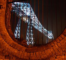Middlesbrough Transporter Bridge by phildevy