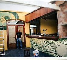 wall mural ha'penny inn lanzarote by imajicabizz