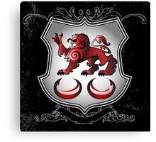 Clan Caomhánach (Kavanagh) Family Crest Canvas Print