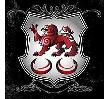 Clan Caomhánach (Kavanagh) Family Crest Photographic Print