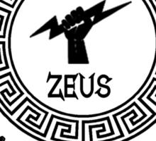 Percy Jackson - Camp Half-Blood - Cabin One - Zeus Sticker