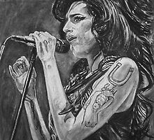 Amy Winehouse by Ken Kilpatrick