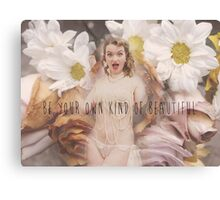 Be your own kind of beautiful Canvas Print