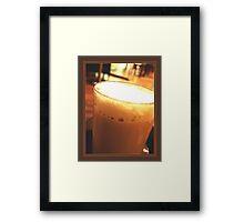 Latte Macchiato Framed Print