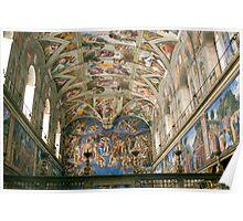 Sistine Chapel, Vatican Poster