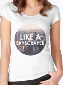 Like a Skyscraper Women's Fitted Scoop T-Shirt