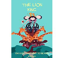 Lion king Photographic Print