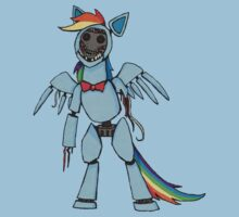 Rainbow Dash - Five Nights at Freddy's by Kaiserin