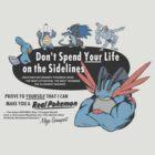 Pokemon - Mega Swampert - Get Buff Advert by Kaiserin