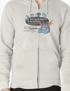 Pokemon - Mega Swampert - Get Buff Advert Zipped Hoodie