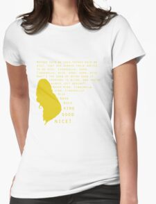 Into The Woods: Cinderella(Prologue) Womens Fitted T-Shirt