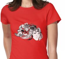 PaisleyTresses Womens Fitted T-Shirt