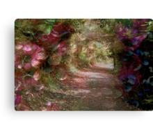 Leaving Secret Garden Canvas Print