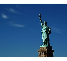 Lady Liberty Photographic Print