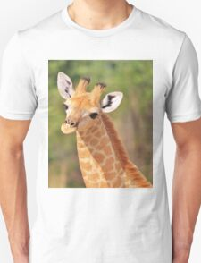 Giraffe - African Wildlife - Innocence is Adorable T-Shirt