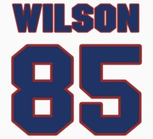 National football player Mike Wilson jersey 85 by imsport