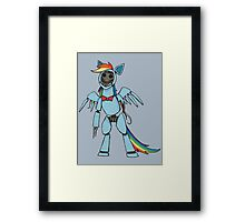 Rainbow Dash - Five Nights at Freddy's Framed Print