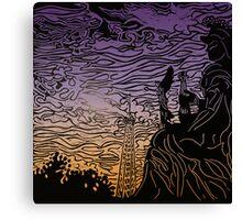 Twilight Paris Canvas Print
