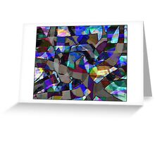 Abstract #10 Greeting Card