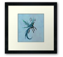 Queen Chrysalis Breezie Framed Print