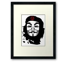 Che Guevara Anonymous Framed Print