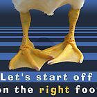 Let's Start Off On The Right Foot by Yuval Levin