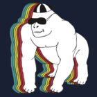 MR COOL GORILLA T-SHIRT by parko