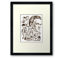 THE TARANTINOS Framed Print