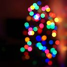 My Christmas tree lights  by ShellyKay