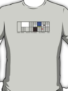Eames House Architecture T-shirt T-Shirt