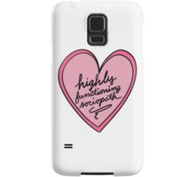 Highly Functioning Sociopath Samsung Galaxy Case/Skin