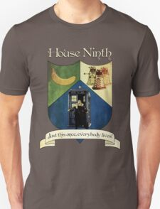 House Ninth Doctor Unisex T-Shirt