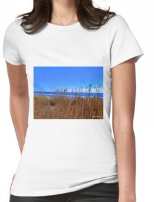 Typical Beach Shot Womens Fitted T-Shirt