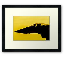 Sunset Sortie Framed Print