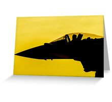 Sunset Sortie Greeting Card