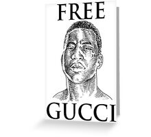 FREE GUWOP Greeting Card