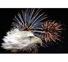 Eagle Explosion Photographic Print