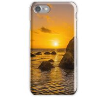 Indian Ocean Setting Sun iPhone Case/Skin