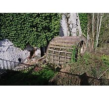 A  MILL WHEEL Photographic Print