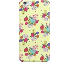 Floral [yellow] iPhone Case/Skin