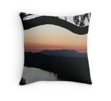 bays hill lookout Throw Pillow