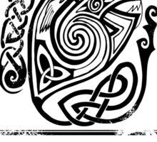 Keltic Krampus Sticker